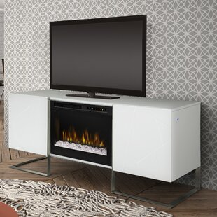 Chase TV Stand for TVs up to 75 with Fireplace Dimplex