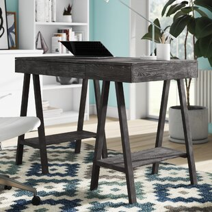 Sindelar Solid Wood Writing Desk by Brayden Studio Reviews