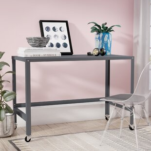 Comparison Brewster Metal Console Rolling Desk ByEbern Designs