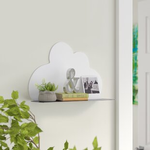 Knighten Cloud Shaped Wall Shelf by Mack & Milo