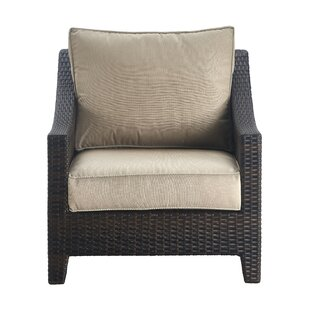 Tahoe Outdoor Wicker Patio Chair with Cushions