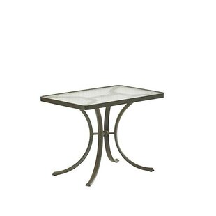 Site Furnishings Glass Dining Table by Tr..