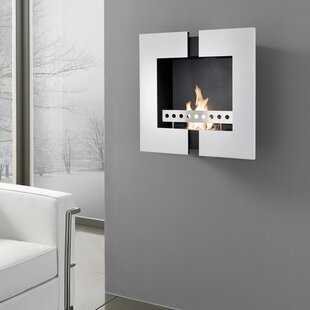 Liam Wall Mount Ethanol Fireplace By Belfry Heating
