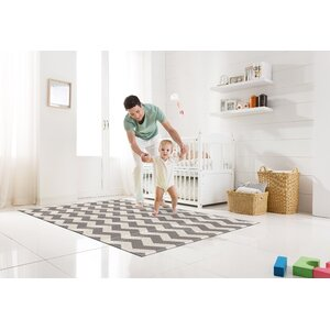Zig Zag Portable Folding Floor Mat