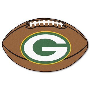 NFL - Green Bay Packers Football Mat By FANMATS