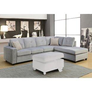 Mercer41 Klatt Grand Sectional Sofa