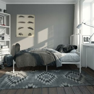 Longwell Metal Platform Bed by Ebern Designs