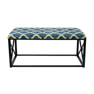 Amedee Upholstered Bench by Everly Quinn