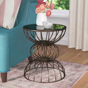 Best Price Keiser Wire Ball End Table By Willa Arlo Interiors