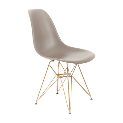 Mohnton Dining Chair Seat Color: Grey by Wade Logan