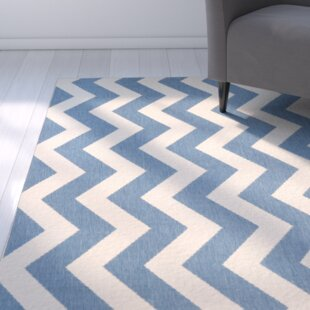 Mullen Blue/Beige Indoor/Outdoor Area Rug