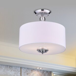 Hazel 3-Light Semi-Flush Mount..
