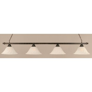 Stroud 4-Light Pool Table Light by Red Barrel Studio