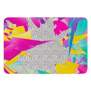 Buy 80's Abstract by Danny Ivan Bath Mat!