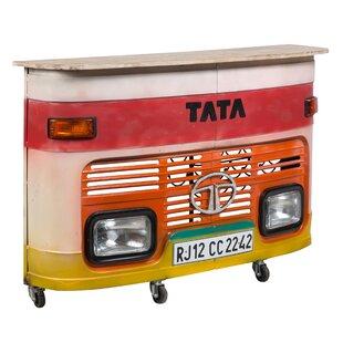 17 Stories Durrant Truck Bar Cart