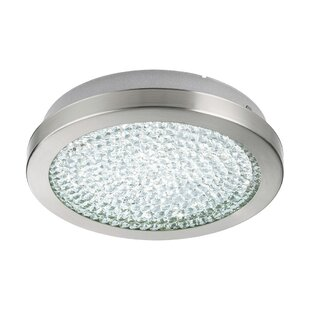 Orren Ellis Frey 2 Ceiling 1-Light LED Semi Flush Mount