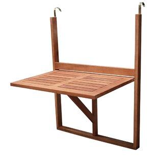 Folding Wooden Balcony Table Image