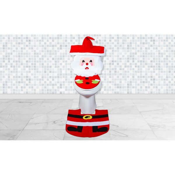 Santa Bathroom Rug Wayfair