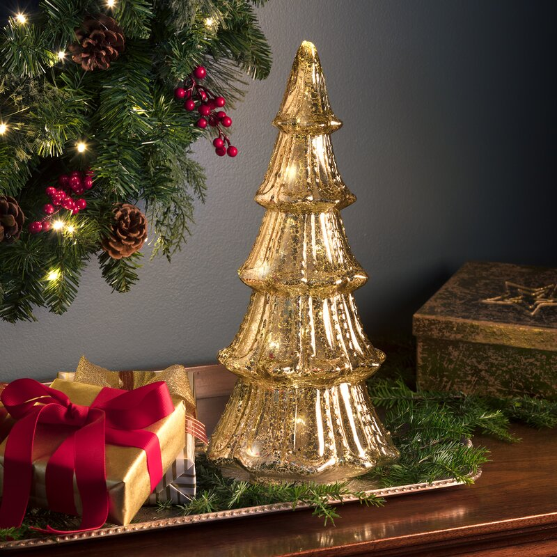 Mercury Gl Christmas Tabletop Tree