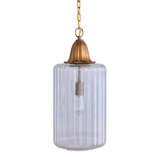 Port 68 Tulip 1 Light Single Jar Pendant Perigold