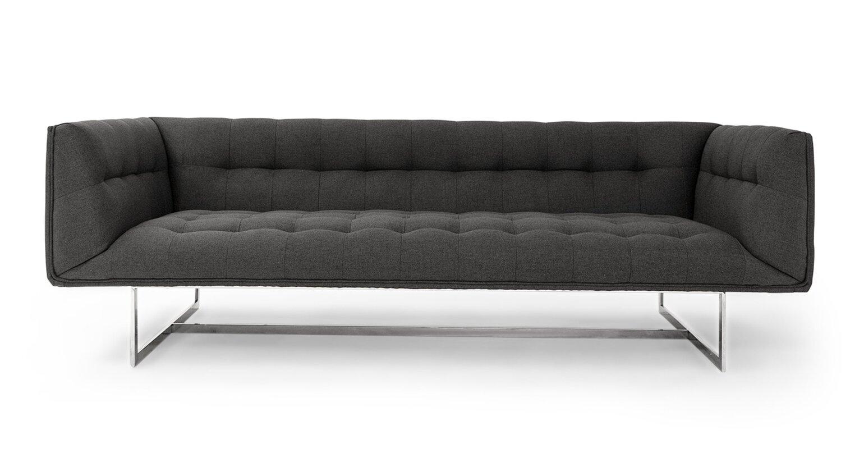 kardiel edward mid century modern chesterfield sofa  reviews  - defaultname