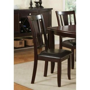 Rubenstein Contemporary Upholstered Dining Chair Set of 2 by Charlton Home