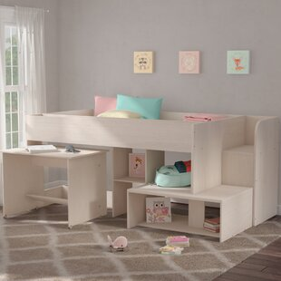 Great deal Melody Midsleeper Twin Bed by Harriet Bee Reviews (2019) & Buyer's Guide