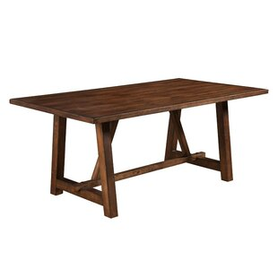 Anderle Rubberwood Dining Table by Gracie Oaks 2019 Sale