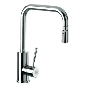 Remer by Nameek's Single Mounted Deck Mounted Kitchen Sink Faucet