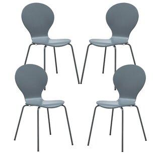 Orren Ellis Pearl Street Solid Wood Dining Chair (Set of 4)
