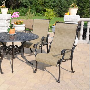 Velazquez Stacking Patio Dining Chair (Set of 4)