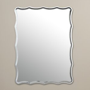 Wayfair Wall Mirrors chrome wall mirrors you'll love | wayfair