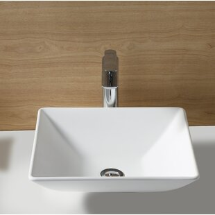 Best Fauceture Square Vessel Bathroom Sink By Kingston Brass