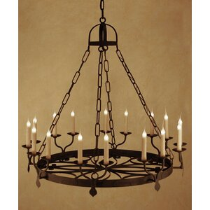 Ellington 16-Light Candle-Style Chandelier