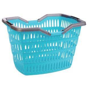 Folding Handles Laundry Basket by Rebrilliant