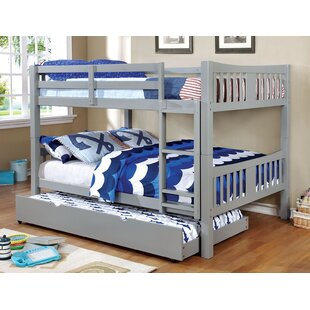 Rego Full Over Full Bunk Bed with Drawers by Harriet Bee