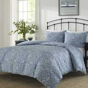 Daria Cotton 3 Piece Reversible Duvet Cover Set