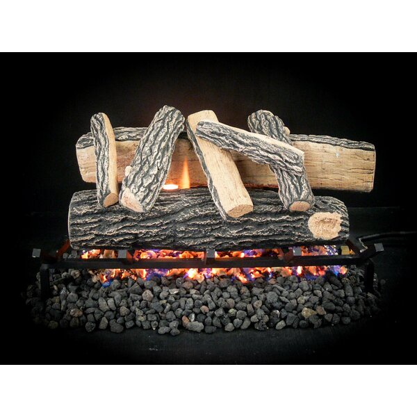 Vented Gas Logs With Remote Wayfair