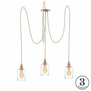 Brayden Studio Esai 3-Light Cluster Pendant