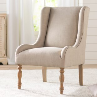 Read Reviews Pando Wingback Chair By Lark Manor