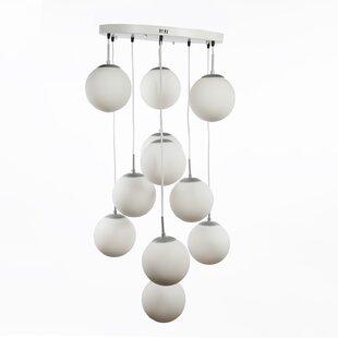 dCOR design Chelsea Home Furniture 11-Light Pendant