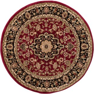 Cobbins Medallion Multi-Colored Area Rug by Astoria Grand