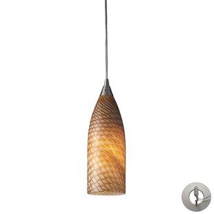 Bloomsbury Market Ange 1-Light LED Cone Pendant