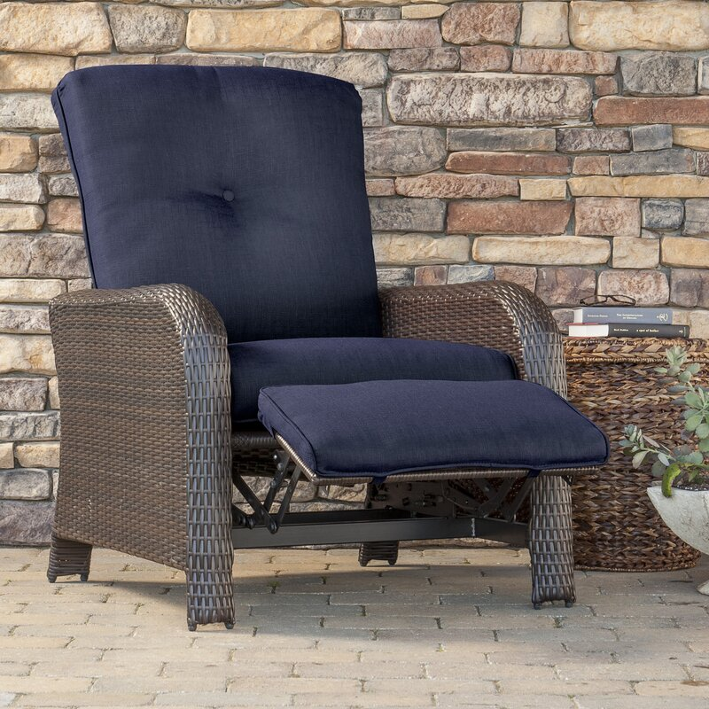 Darby Home Co Barrand Luxury Recliner Chair with Cushion Reviews