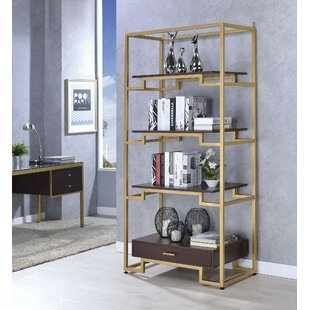Trudy Etagere Bookcase by Everly Quinn