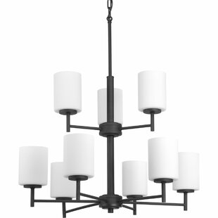 Zipcode Design Knouse 9-Light Shaded Chandelier