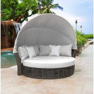Panama Jack Outdoor Patio Daybed with Cushions