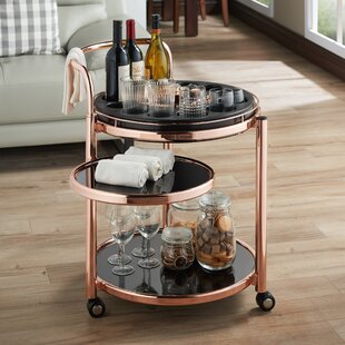 Baisley Serving Bar Cart by Mercer41