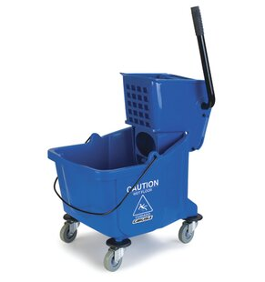 Flo-Pac® 35 Qt. Bucket with Side Press Wringer