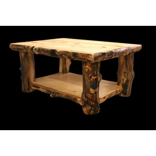 Amias Coffee Table with Shelf by Millwood Pines SKU:AD776966 Information